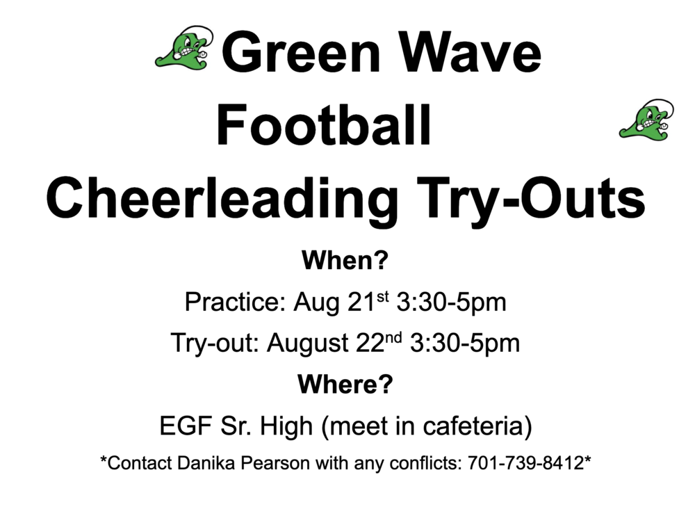 Football Cheer Tryouts