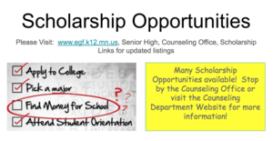 Scholarship Opportunities!