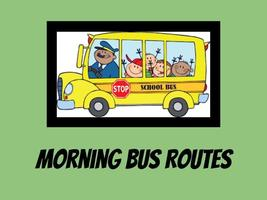 Morning Bus Route Map