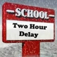School and buses 2 hours late 2/8/19