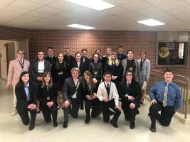 EGF Speech Team 1st Place at Fergus Falls