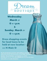 Dream Boutique-3/27 & 3/31 in Crookston