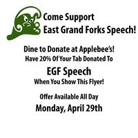 Dine to Donate-Speech Nationals-4/29/19